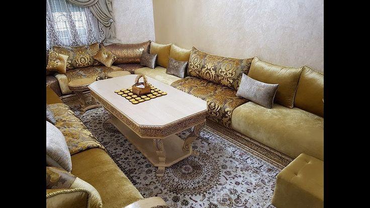 418 best salon marocain moderne images on pinterest. Black Bedroom Furniture Sets. Home Design Ideas