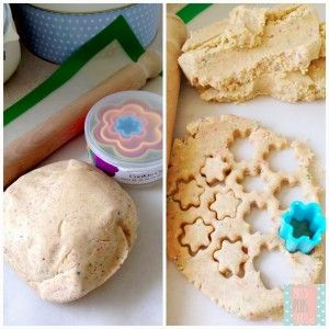 Tiny star biscuits for kids in the thermomix