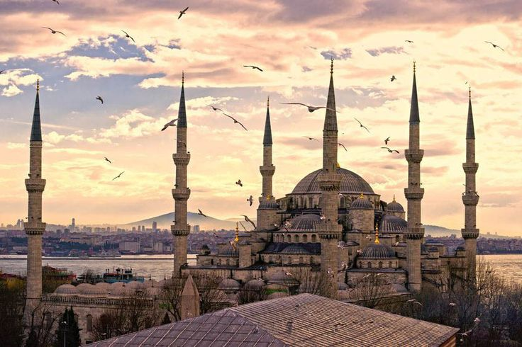 Turkey Blue Mosque (Sultan Ahmed Mosque) Islamic Poster