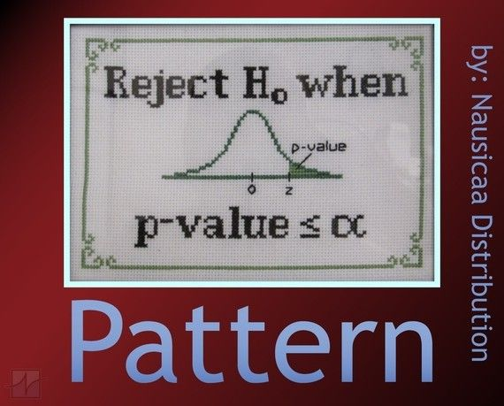 Pvalue Guide Crossstitch Pattern by NausicaaDistribution on Etsy, $3.50