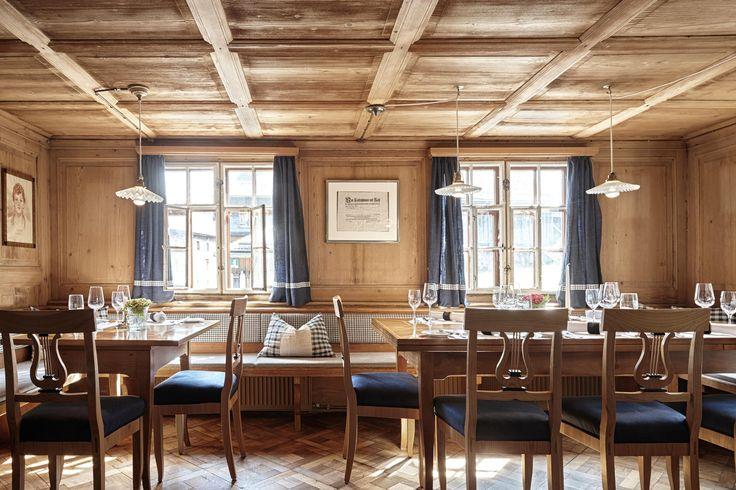 Allgemeine Informationen über das Hotel Hirschen in Schwarzenberg im Bregenzerwald, sowie das traditionsreiche Restaurant und Wissenswertes über namhafte Künstler Vorarlbergs.