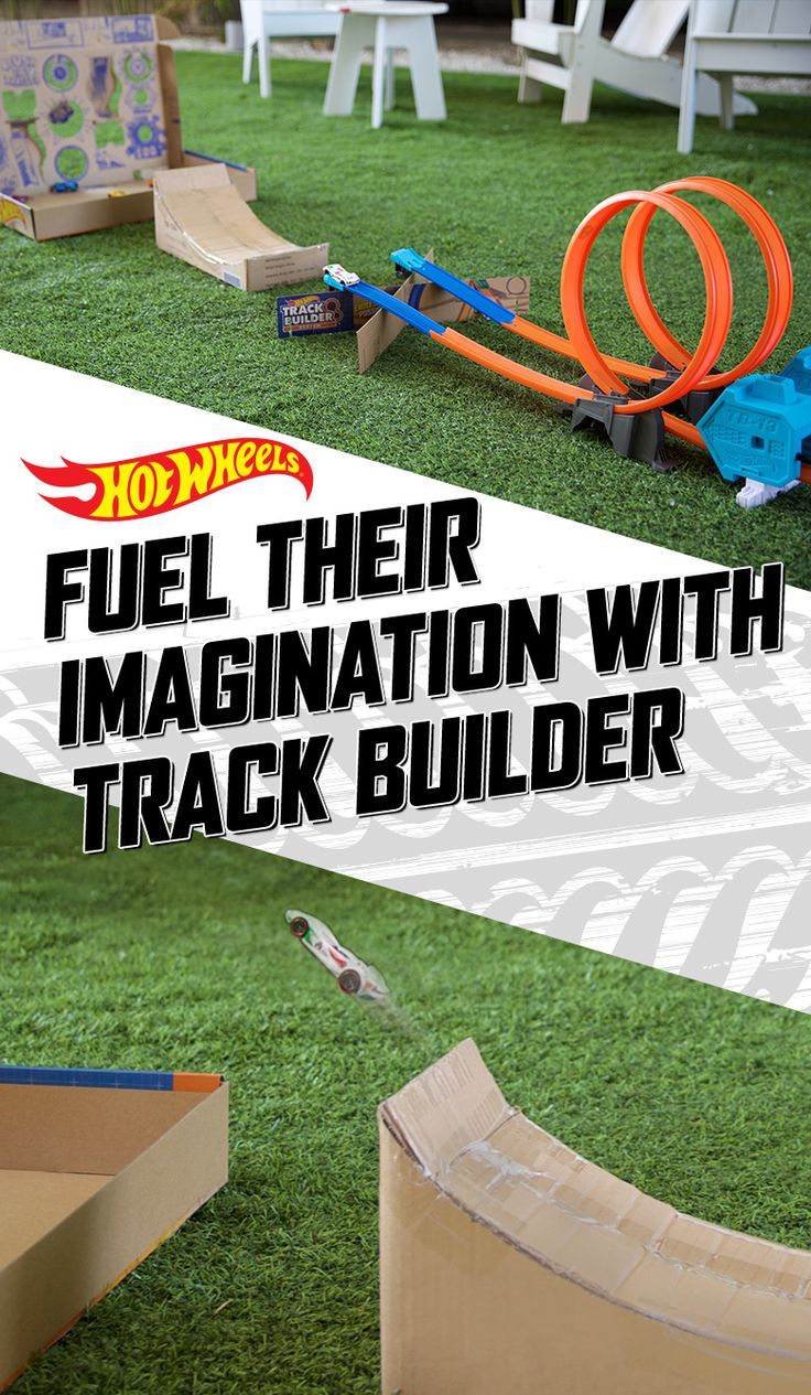 Epic knows no limits. Inspire kids to trick out their Hot Wheels Power Booster Kit by creating DIY stunts from everyday household items.