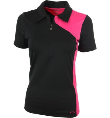 Oakley Women's Spur Blocked Short Sleeve Polo