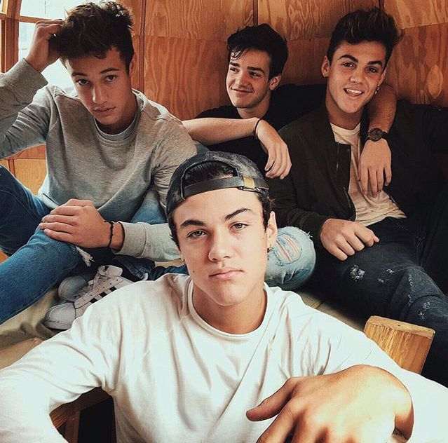 The Dolan Twins, Aaron Carpenter, Cameron Dallas