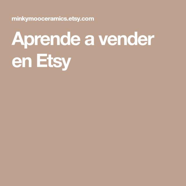 Aprende a vender en Etsy
