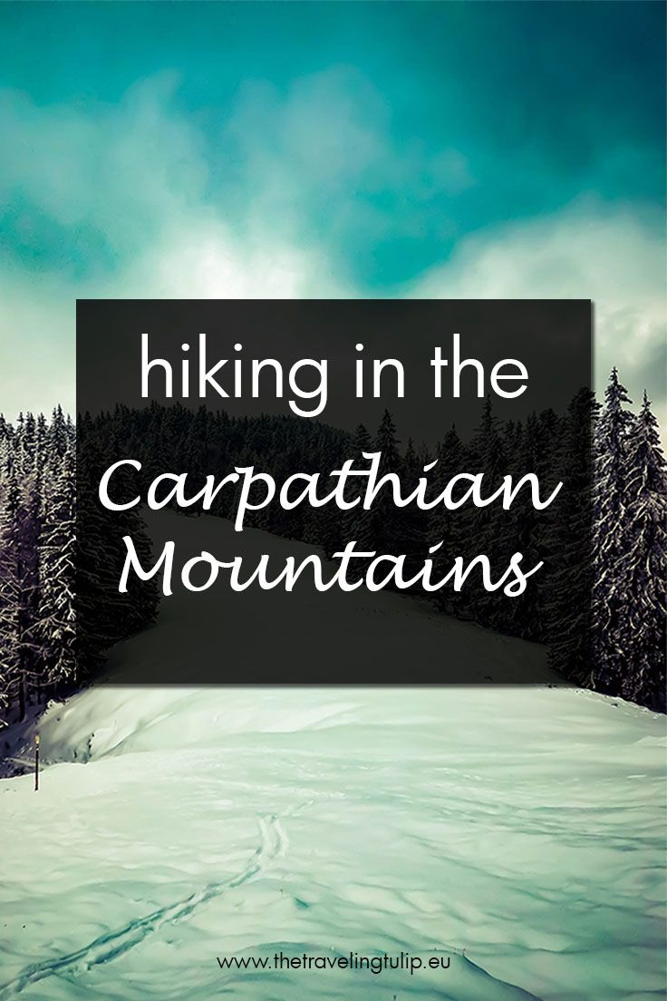 A funny story of how I got a bright idea to go hiking in the Carpathian Mountains, without having the least of knowledge of how to do it. Turned out great, in the end!