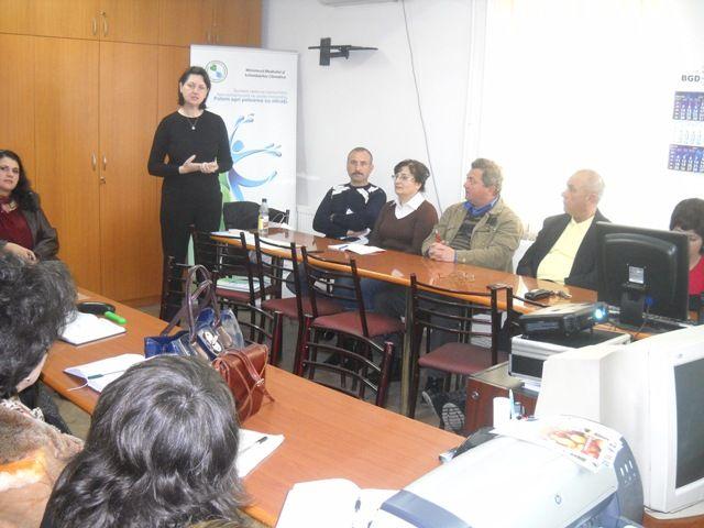 CHIȘCANI, BRĂILA – Seminar pentru formare de formatori, educație ecologică