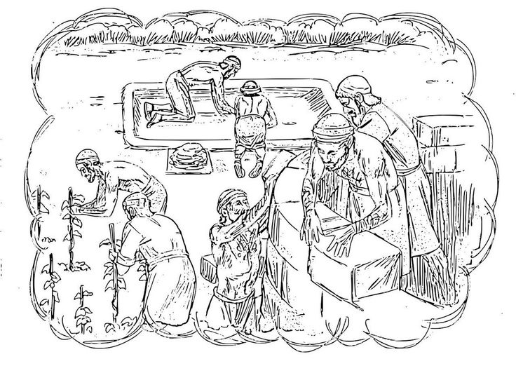 coloring pages on the parables of the tenants - Bible Story Coloring Pages Naaman