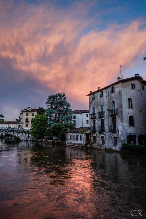 VICENZA - ITALIA - fiume Bacchiglione