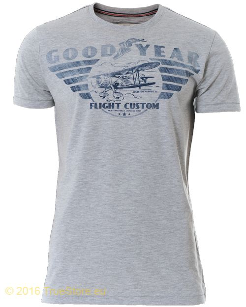 Goodyear Slim Fit T-Shirt Terry - Herren T-Shirt - Goodyear