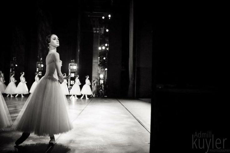 """""""How dare he,"""" said the Willi with an evil narrowing of her eyes.   Badisches Staatstheater Karlsruhe, Giselle."""