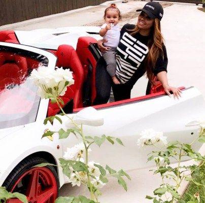 Black Chyna Acquires New Ferrari After Rob Kardashian Took Back Her Former One http://ift.tt/2tFStOD