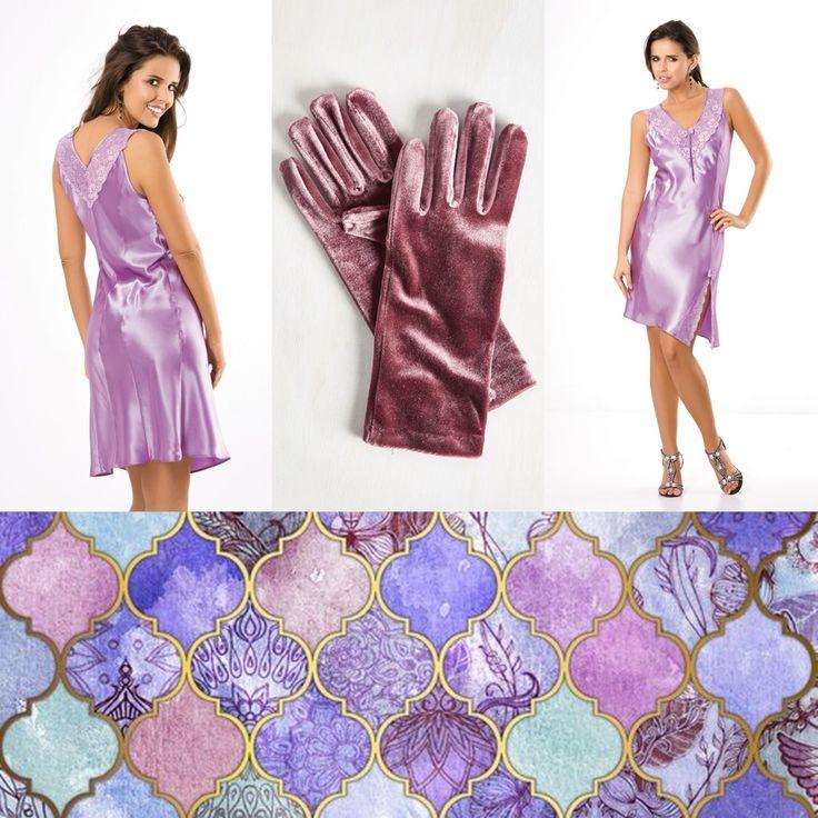 MIMI #poland #polska #moueve #gloves #violet #nightwear #sexy #lace #underwear #lingerie #mimi