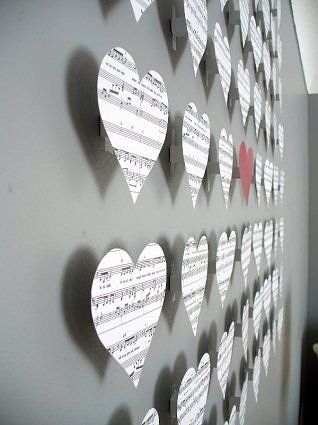 sheet music hearts