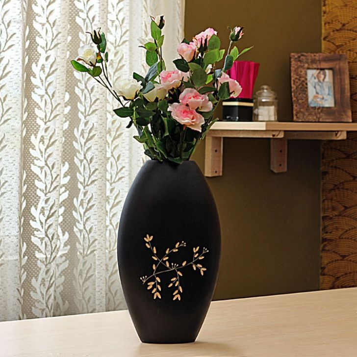 SNG Wooden Flower Vase - FabFurnish.com #DiwaliDecor #FabFurnish