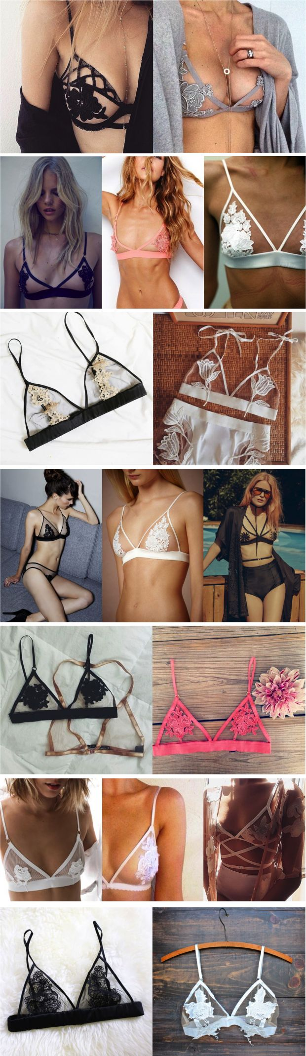 http://dingox.com TREND ALERT: LINGERIE - Fashionismo