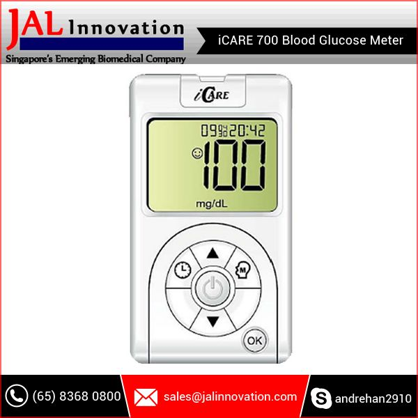 Self-Monitor Blood Glucose Levels with Light Weight Blood Glucose Monitoring Meter