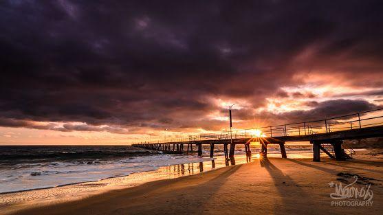 Port Noarlunga Jetty in South Australia