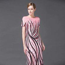 High-end long dress with flower летний новый Американский Европейской моды взлетно-посадочной полосы элегантный блестки красивые макси полный платья S-XL(China (Mainland))