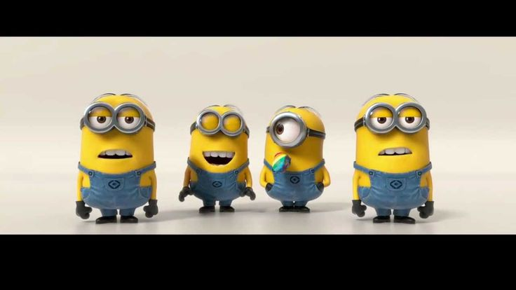 Minions Banana Song... gotta love the minions :D Jaxons obsessed with this video