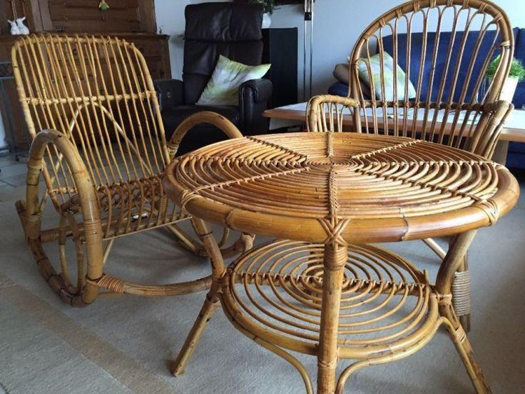 Schaukelstuhlrunder Tisch 70 Cm Und Stuhl Mit Leichten