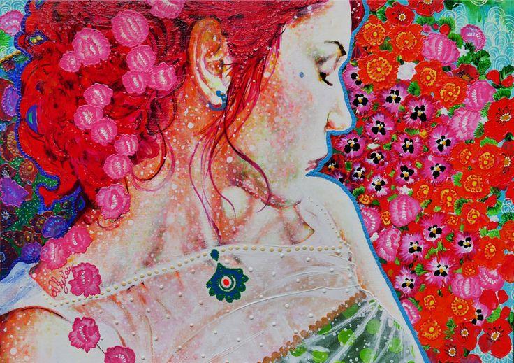 Entrez dans le monde coloré de l'artiste peintre Amylee et découvrez ses toutes dernières œuvres picturales. De superbes portraits de femmes...