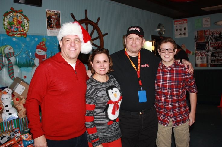 Toys For Tots Family : Maisano family with steve topilnycky from westchester