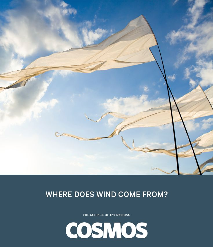 Gales, drafts, gusts and breezes – why we get them, and how we harness their power. #WhyIsItSo?