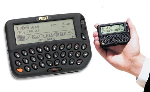 A look at BlackBerry's devices through the ages ~ The Geekr