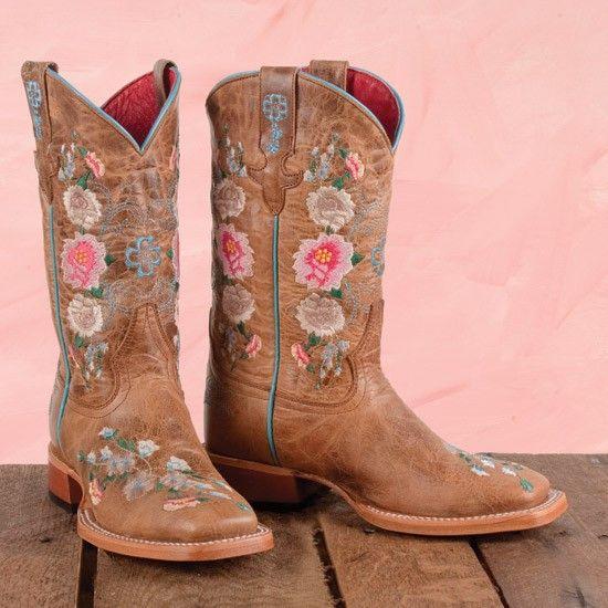 Macie Bean Kid's Crazy Train Patchwork Cowboy Boots MK9012