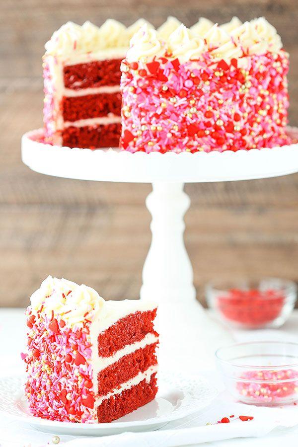 Red Velvet Layer Cake Easy Red Velvet Cake Recipe Recipe Velvet Cake Recipes Red Velvet Cake Recipe Red Velvet Birthday Cake