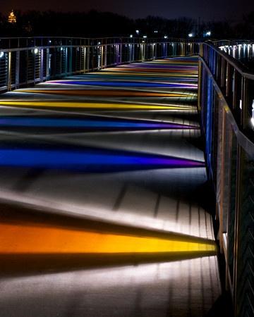 Grays Lake Bridge, Des Moines, IA