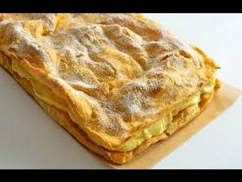 Торт Карпатка рецепт приготовления Tort Karpatka Пляцок Карпатка рецепти...