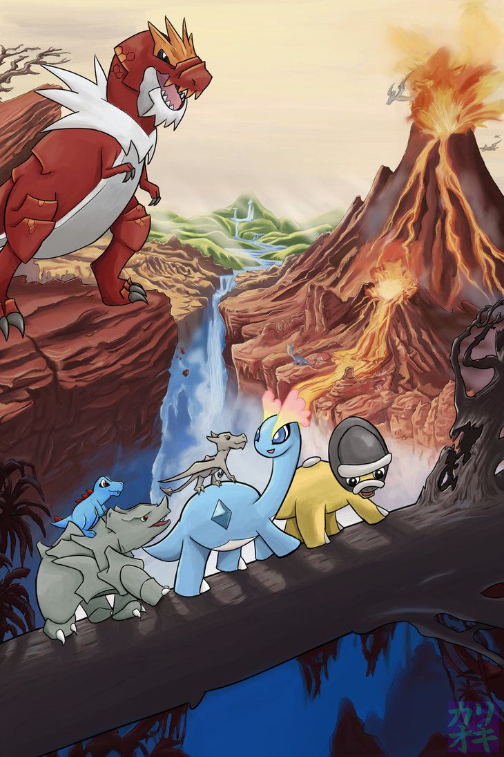 Movies with Pokemon - The Land Before Time by KariOhki on DeviantArt. I remember these movies ^^ nostalgia