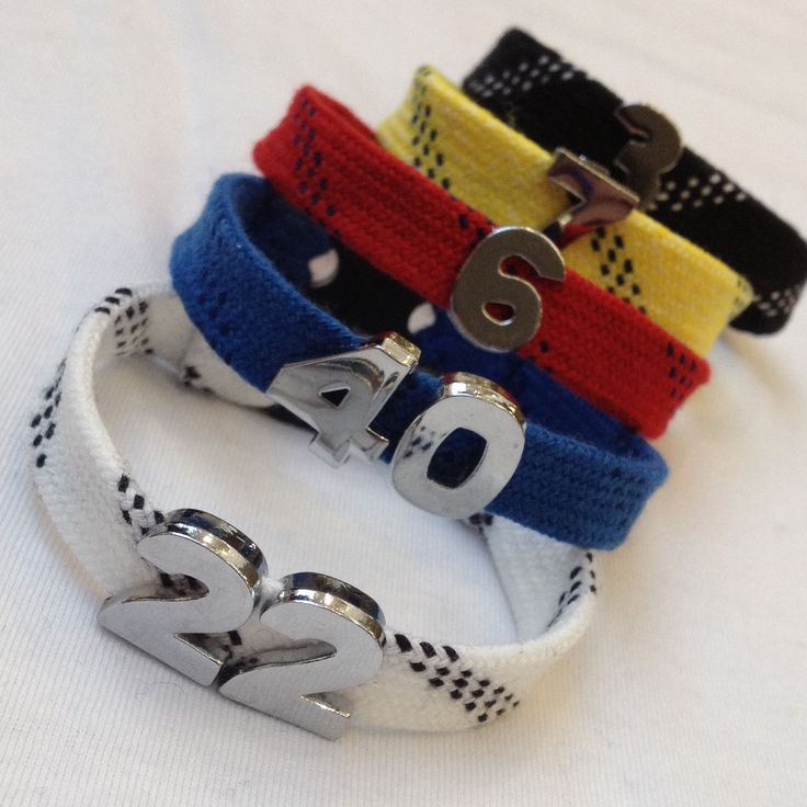 Player # Skate Lace Bracelet
