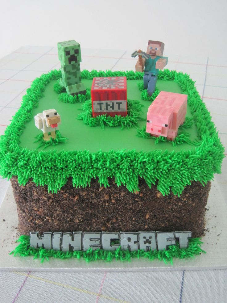 Grass Cake on Pinterest | Lawn Mower Cake, Rabbit Recipes and ...