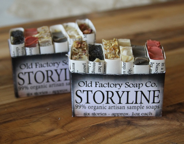 Soap Sampler by Old Factory Soap Company featured on 20 best 20