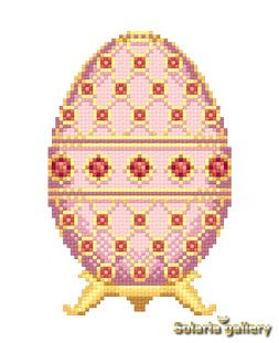"Pattern ""Ruby Rose Faberge Egg"" - PDF download"
