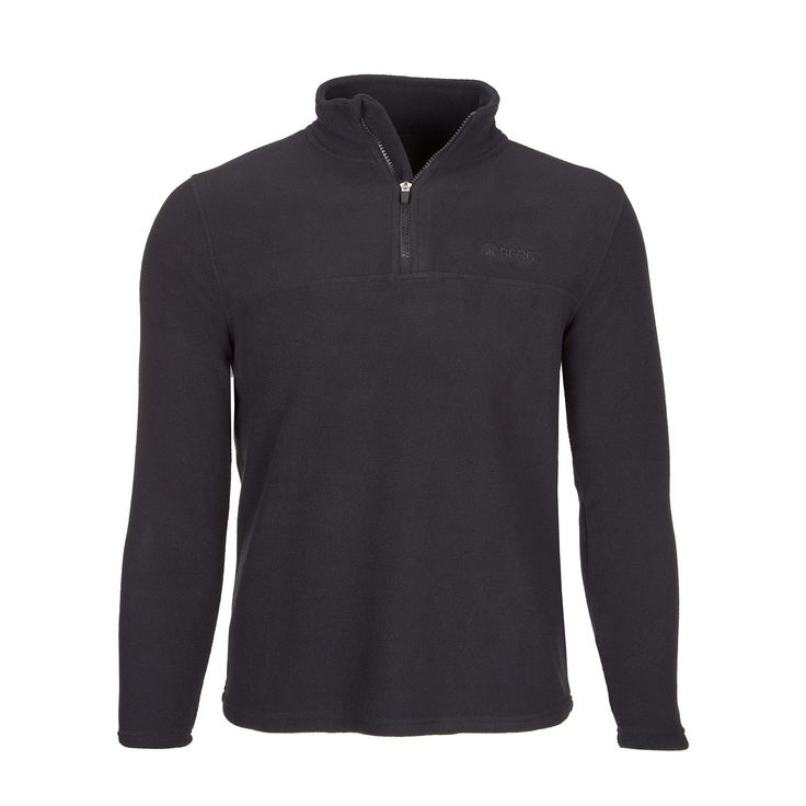 Casual and versatile ½ zip polar fleece with anti-pilling treatment ready to take on all kinds of outdoor adventures.