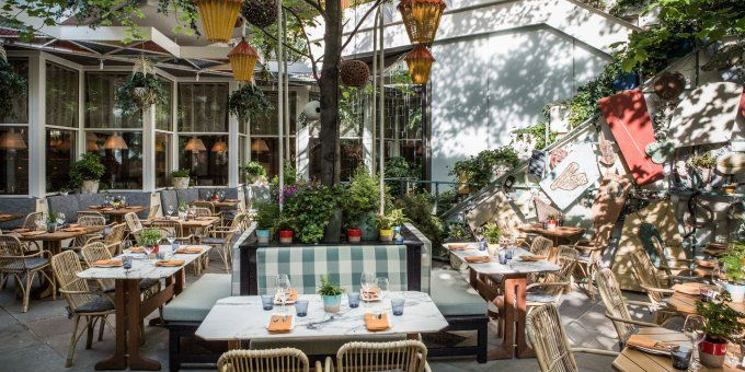 Outdoor Dining Nyc The Best Outdoor Dining Drinking Places In New