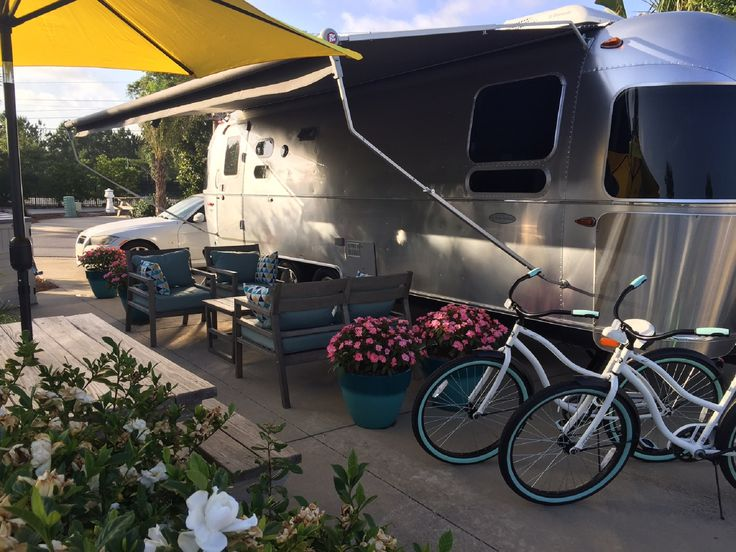 Sleek and Modern Airstream Rental for Six Guests near Pensacola, Florida