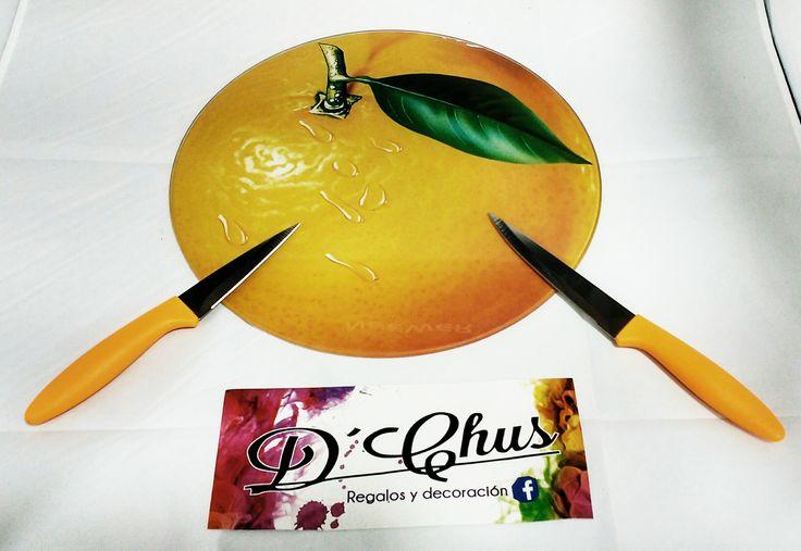 Tablas de Cortar del modelo Naranja. #dchusregalos #DCHUS #tablasdecortarnaranja