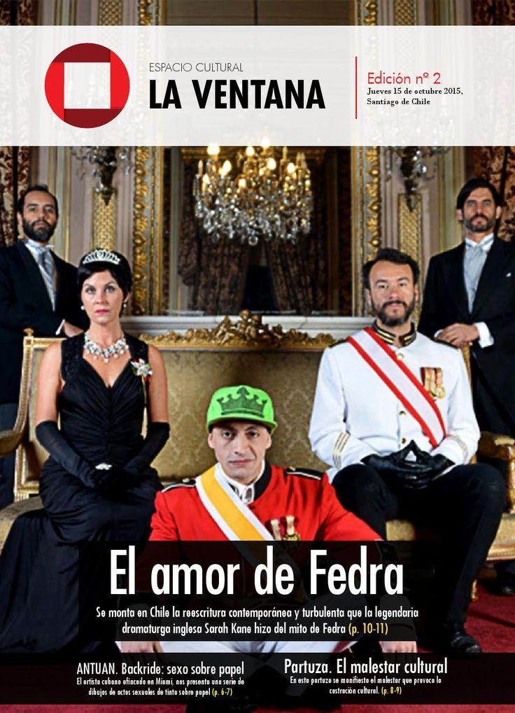La Ventana, Espacio cultural N°2  Edición N°2 de la Ventana, espacio cultural. Proyecto sin fines de lucro. Santiago de Chile, 14 de Octubre