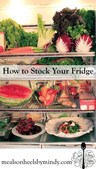 what s in your fridge how to stock a healthy refrigerator organizing healthyeating. Black Bedroom Furniture Sets. Home Design Ideas