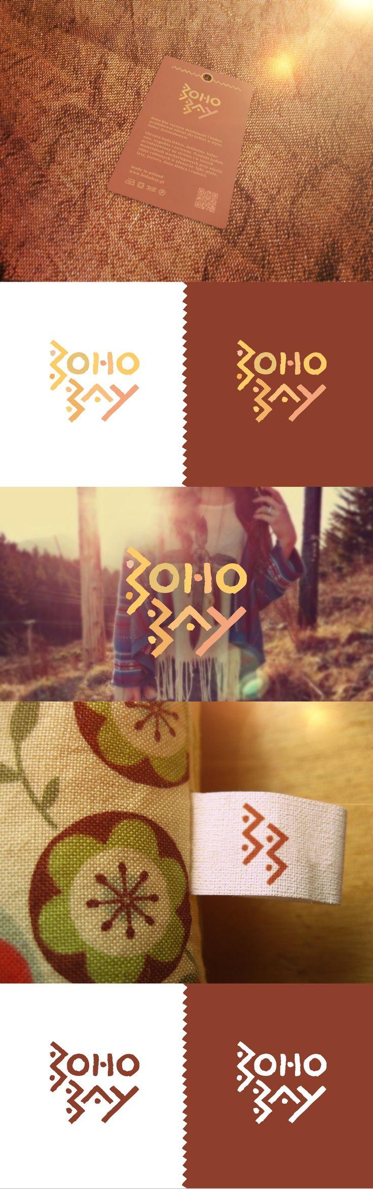 Praca nr 114245 w konkursie Projektowanie logo dla nowopowstającej marki odzieżowej Boho Bay | Corton.pl