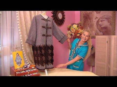 Трикотажное пальто. 27.10.2016 - YouTube