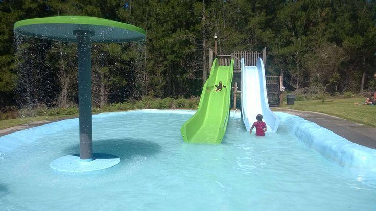 Kiddies fun in the water
