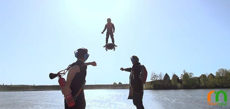 Ünlü Mucitten Mükemmel Bir Hoverboard; Flyboard Air | Rella Blog