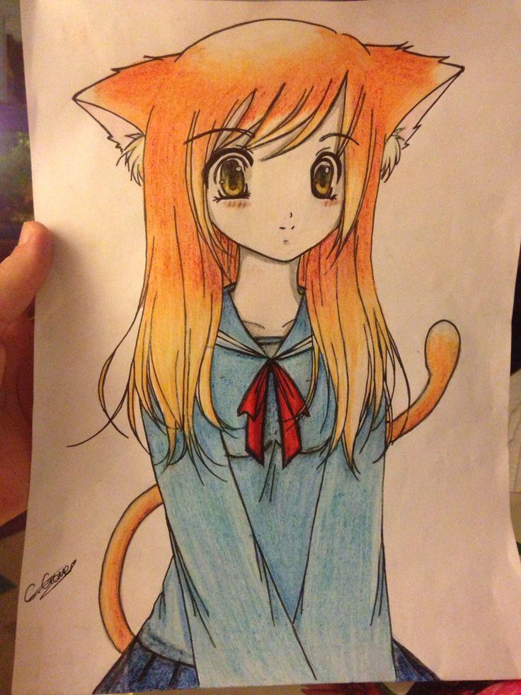 Cat girl kawaii!!!