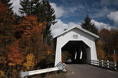 Oregon Covered Bridges - SCIO REGION